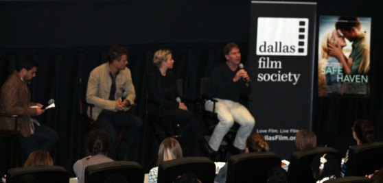 Celebrity Q&A for Safe Haven at SMG Sprin Valley